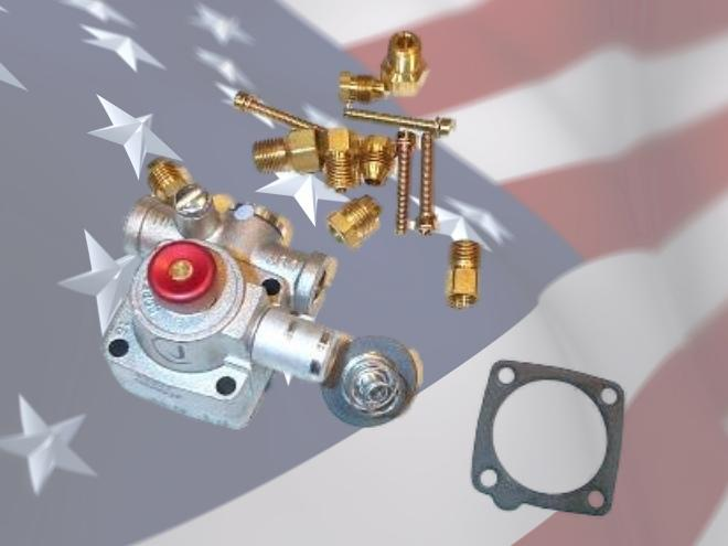 ROBERTSHAW 1751-018 L.P to Natural Gas conversion kit for non-step-opening 7100 valves.