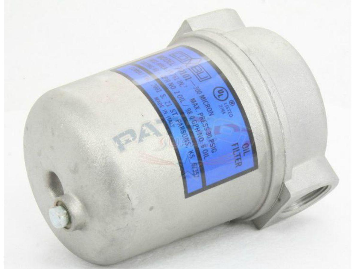 Patriot Supply Combu Products Peco Fuel Filters 40130 Primary Oil Filter 300 Micron 1 Npt 70101